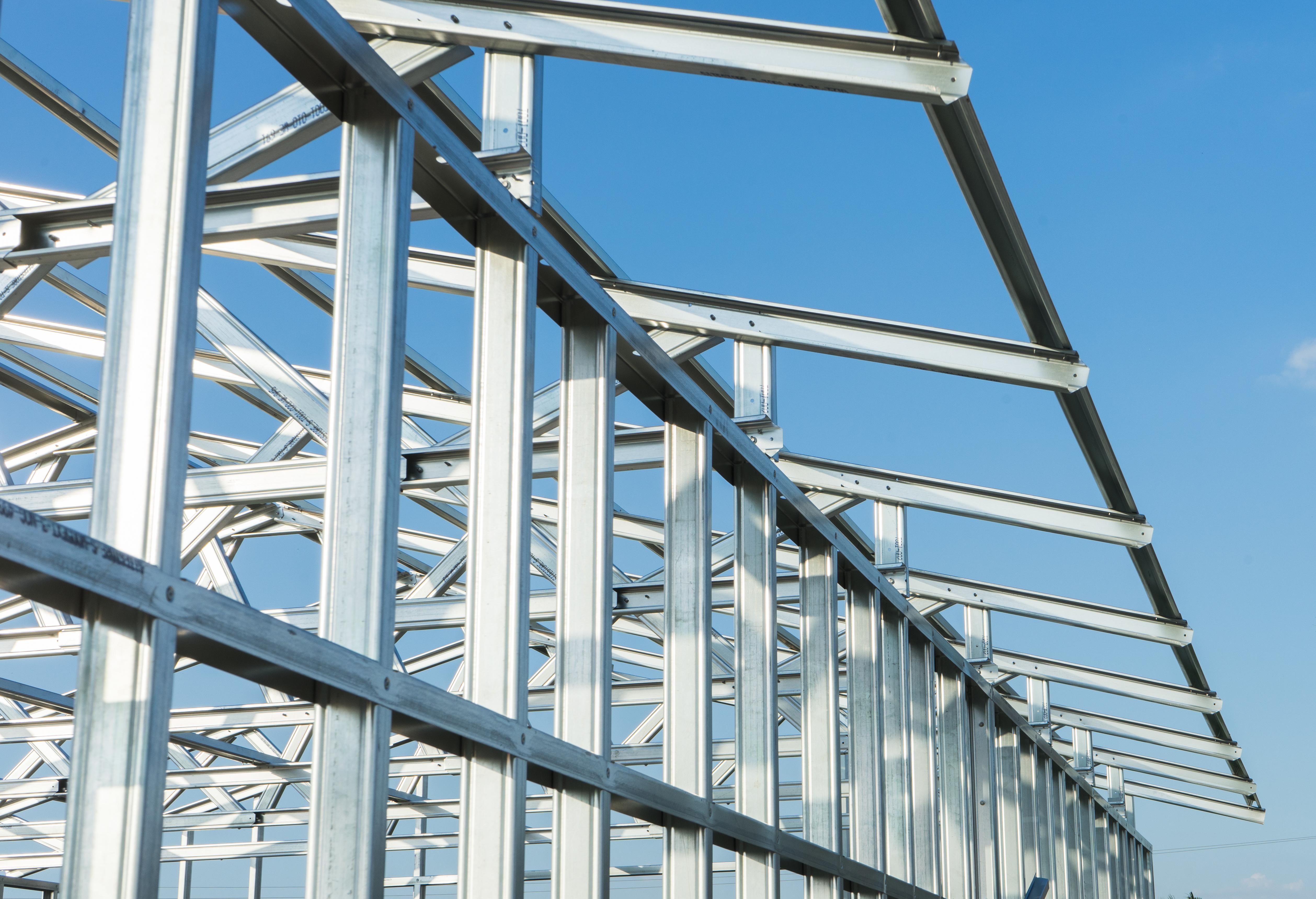 Dachkonstruktionsbau